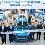 Fiesta thế hệ mới tại Việt Nam có giá từ 549 triệu đồng